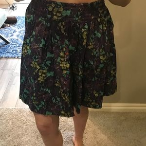Jcrew fit and flare skirt
